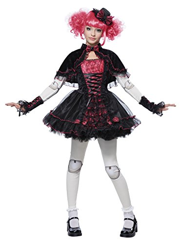 California Costumes Victorian Doll Child Costume, Medium (Doll Halloween Costume)