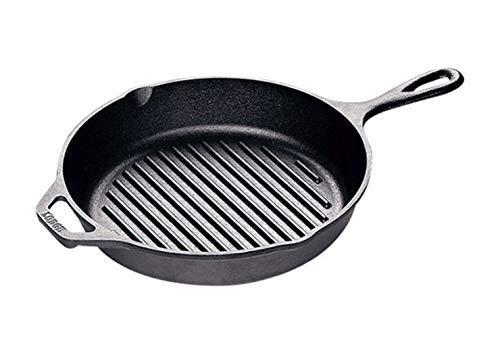 Lodge L8GP3 Cast Iron Grill Pan, 10.25-inch ()