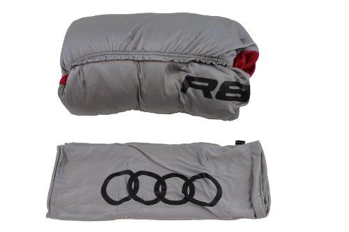 - Genuine Audi Accessories ZAW400150RD Satin Stretch Elite Car Cover for Audi R8