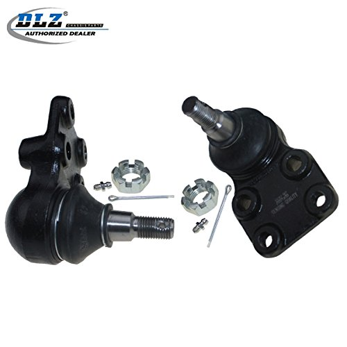 DLZ 2 Pcs Front Suspension Kit-2 Lower Ball Joint Compatible with Isuzu Pickup RWD 2WD 1988 1989 1990 1991 1992 1993 1994 1995