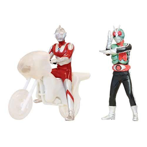 Gashapon HG Ultraman VS Kamen Rider two Assorted
