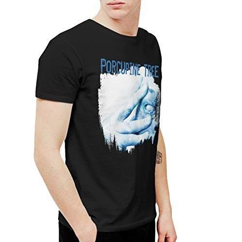 AlexisW Porcupine Tree in Absentia Men's Tshirt Black M (Porcupine Tree T Shirt)