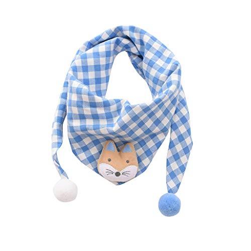 clacce Jungen und Mädchen Kinder Schal Kinder, Winter Schal Modus Baby Schal Junge Mädchen Halstuch Kopf Hals Kind Schals