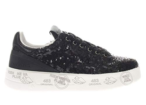 Micropaillettes Belle In Sneaker Nero Donna Premiata c4AqL3jR5