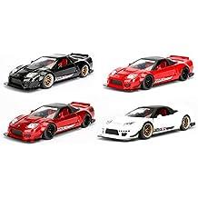 Jada 1: 24 JDM Tuners 2002 Honda NSX Type-R Japan Spec Widebody, Jonsibal Design Works Diecast Model Sport Car, (Assorted Colors) - (1) One Car