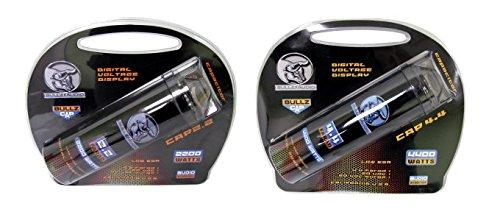 NEW! BULLZ AUDIO BCAP 2.2 Farad Car Digital Power Capacitor & BCAP 4.4 Capacitor by BULLZ AUDIO