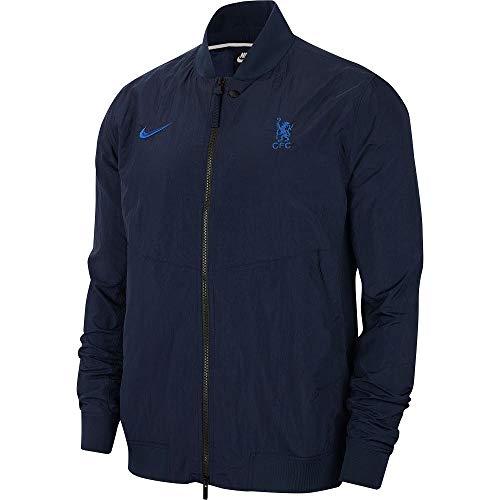 Nike 2019-2020 Chelsea Varsity Franchise Jacket (Obsidian)
