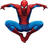 RoomMates RMK1078GSCS Amazing Spiderman Stick Peel and Giant Wall Decal, Baby & Kids Zone