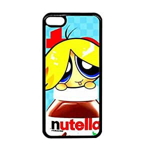 Nutella chocolate Hard Plastic Black Cover, Nutella chocolate iPod Touch 6, Nutella chocolate Phone Funda