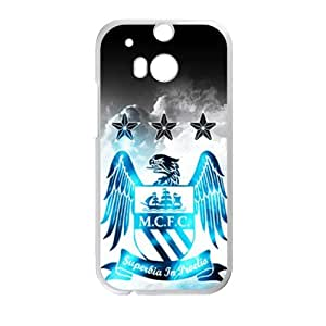 MCFC White Phone Case for HTC M8