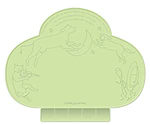 Kiddopotamus Tinydiner Placemat, Green (Discontinued by Manufacturer)