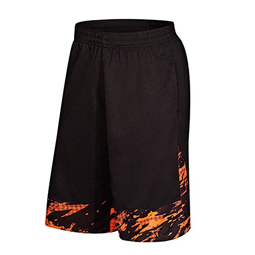 Kstare Shorts for Men, Sweatband Trunks Breathable Fitness Pants for Men Beach Sport Running Loose Trousers Sweatpants -