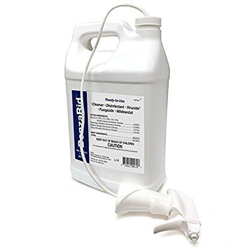 - BenzaRid 1 Gallon Kills MRSA, Staph, H1N1, H5N1 Viruses, Mites, Blood Born Pathogens, Antibacterial, Fungicide, Mold Killer, Flood Damage, Water Damage
