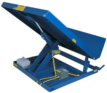 Beacon-Single-Scissor-Lift-Tilt-Table-Uni-Tilt-Capacity-LBS-6000-Level-Height-8-Degree-of-Tilt-40-Power-Unit-Internal-Platform-Size-WxL-54x48-Platform-Size-W-x-L-Model-BUNI-5448-6