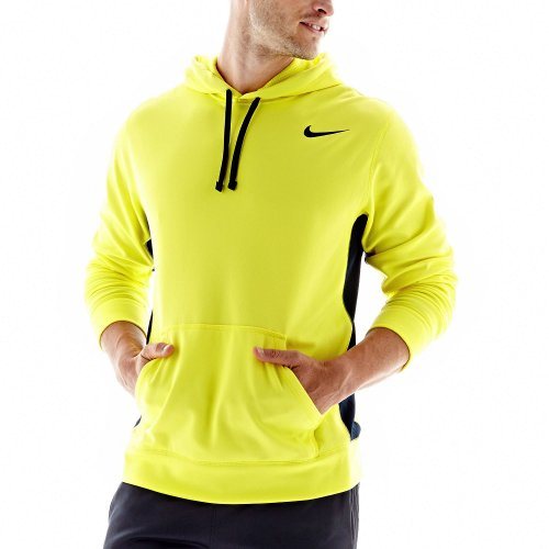 978f4fc37444 Men s Therma-Fit KO 2.0 Pullover Training Hoodie-Neon