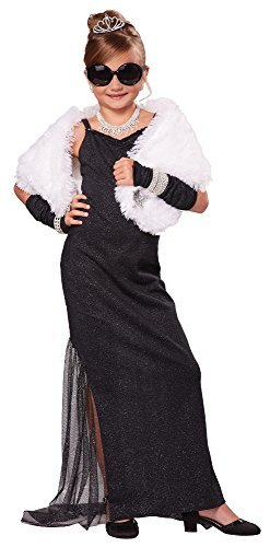 [California Costumes Hollywood Diva Costume, One Color, 6-8 by California Costumes] (Hollywood Quality Costumes For Sale)