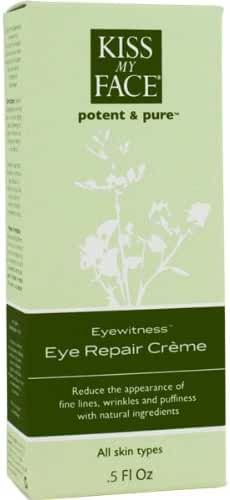 Kiss My Face Organics Eyewitness, Eye Repair Creme, 0.5 fl oz