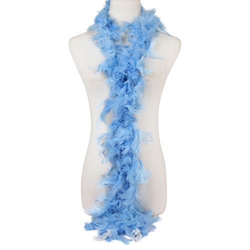 [crownroyaljack Fashion Turkey Feather Boas Dress up Costume Accessory for Wedding Party Carnival Decoration,] (Hen Night Costume Accessories)