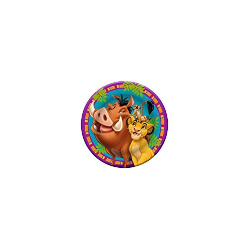 [Hallmark BB019993 Lion King Dinner Plates - 8-Pack] (Pumbaa Halloween Costumes)