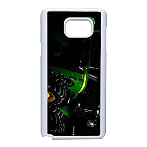 Samsung Galaxy Note 5 Cell Phone Case White John Deere QY7987069