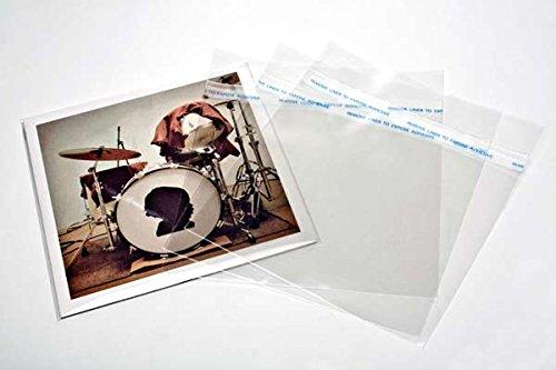 7' Auß enhü llen Single Hü llen + Umschlag (auch Blake sleeves) 18.7x17, 8 + 3 cm. [BLP45] Packlinq