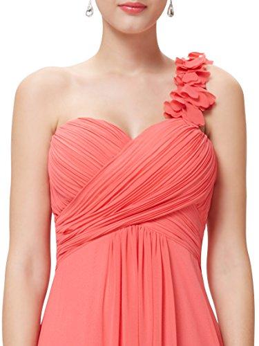 abito da vestito Pretty sera sera da 09768 da da Corallo Ever vestito donna lungo sera Vestito da 7R0wwSx