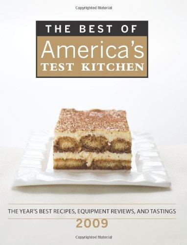 Best Americas Test Kitchen 2009