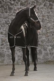 Black Black & Diamante 5'6\ Black Black & Diamante 5'6\ Rambo Horseware Diamante Cooler