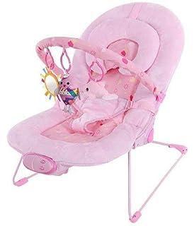 Silla mecedora de lujo reclinable, vibradora y musical para bebé, Con soporte para la