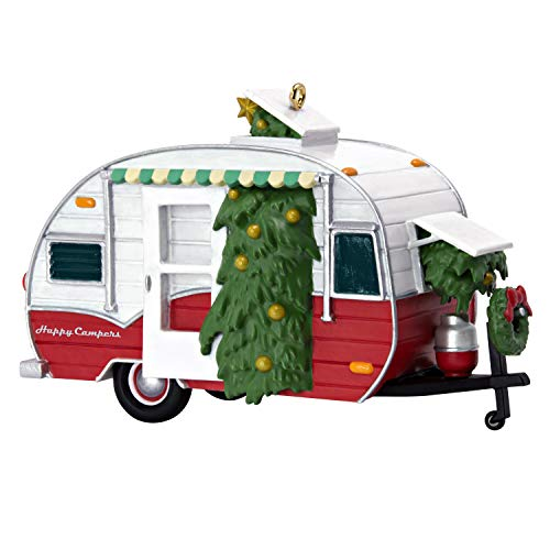 Keepsake Christmas 2019 Year Dated Happy Campers Travel Trailer Ornament, Camping (Best Travel Trailers 2019)