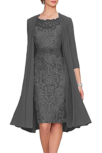 CladiyaDress Women Mother of The Bride Dress with Jacket Formal ...