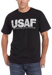 Gildan Men's Us Freedom Gear Tee,Black,Small