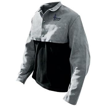 2c19b82b4f Bob Dale 63-1-52P-X3L Premium Pearl Split Leather Quarter Welders Jacket  with Welts