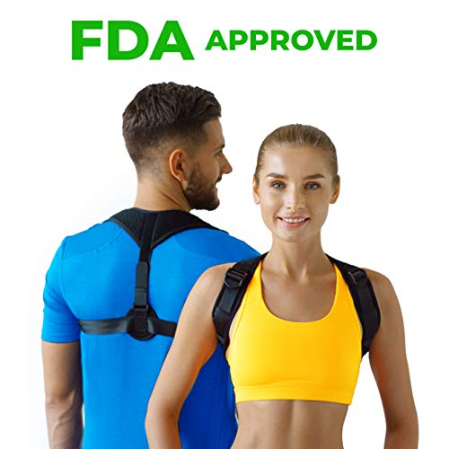 Figure 8 Posture Corrector | Invisible Shoulder Posture Strap for Men & Women | Effective Shoulder Corrector for Posture Brace | Discreet Clavicle Posture Support Rehab & Alignment Shoulders