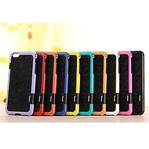 GDW modelo del diamante TPU del caso para el iphone 6 más (colores surtidos) , Light Blue