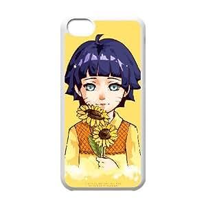 iphone5c White phone case Naruto Himawari Uzumaki Best gift for boys NOF3719190