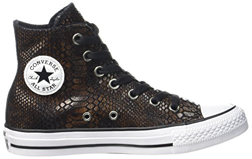 Converse Kvinners Chuck Taylor All Star Canvas Trenere Brun Sort
