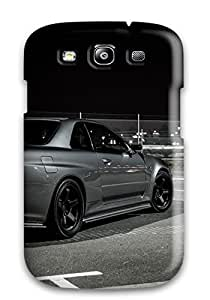 Awesome IRKXYQA11397ytMZT Cynthaskey Defender Tpu Hard Case Cover For Galaxy S3- Nissan Gt-r 34534