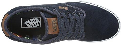 Vans M ATWOOD DELUXE - Suede Herren Sneaker Blau ((Suede) navy/gu / DYX)