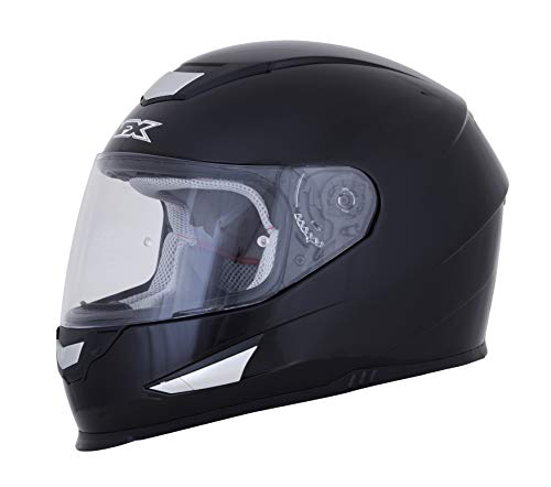 AFX FX-99 Full Face Helmet (Medim, Gloss Black)