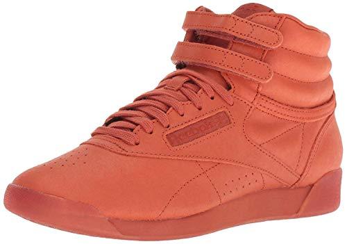 Reebok Women's Freestyle Hi Walking Shoe, face-Mars dust/White, 5 M US