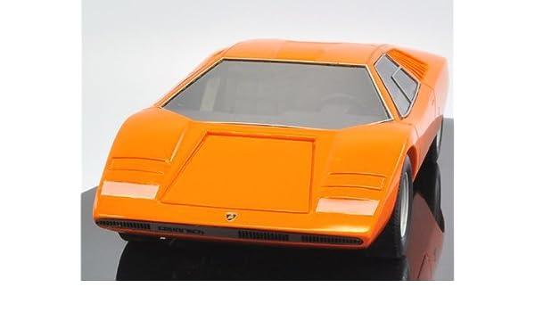 Amazon Com 1 43 Lamborghini Countach Lp500 Prototype 1971 Orange