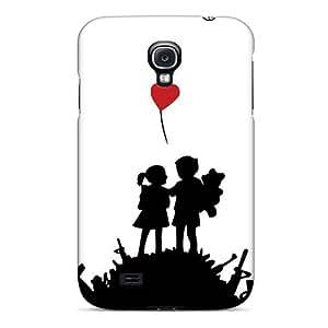 Richavans Galaxy S4 Hard Case With Fashion Design/ BWBVUmZ7389mLGem Phone Case