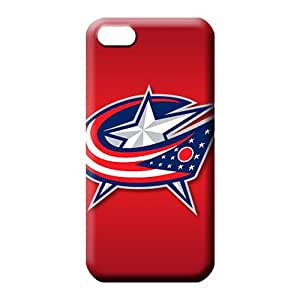iphone 5 5s mobile phone case Eco-friendly Packaging Classic shell Awesome Look columbus blue jackets