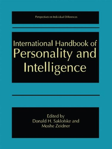 International Handbook of Personality and Intelligence (Perspectives on Individual Differences)