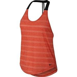 Nike Elastika Elevate Dri-FIT Tank Top (X-Large, Light Crimson/Black)