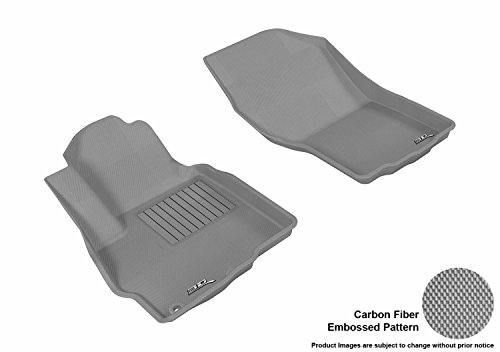 3D MAXpider All-Weather Floor Mats for Mitsubishi Outlander 2011-2020 Custom Fit Car Floor Liners, Kagu Series (1st Row…