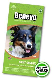 Benevo Dry Dog Food Organic Complete Adult - 2kg Bag