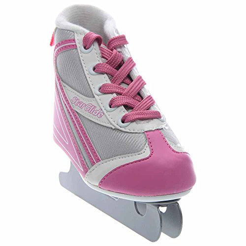 Lake Placid Starglide Girl's Double Runner Figure Ice Skate (1)