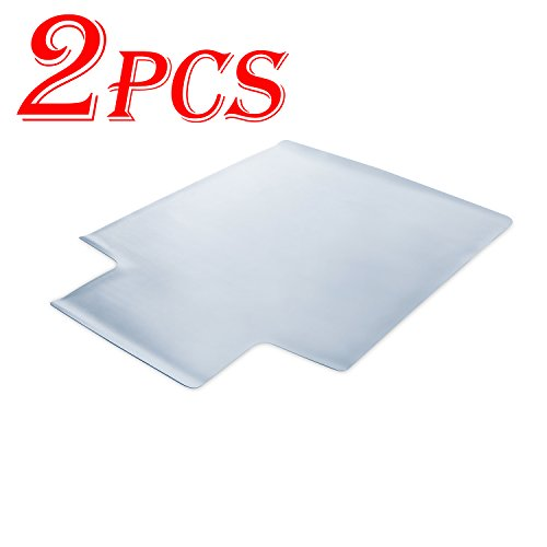 2PCS Office Desk Chair Mat - 48